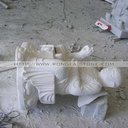 汉白玉地藏王雕像,寺庙雕刻